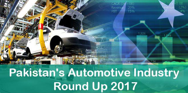 Pakistan Automotive Industry Stats 2017