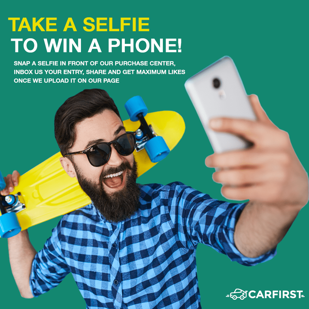 Carfirst's Selfie Compition 2.0