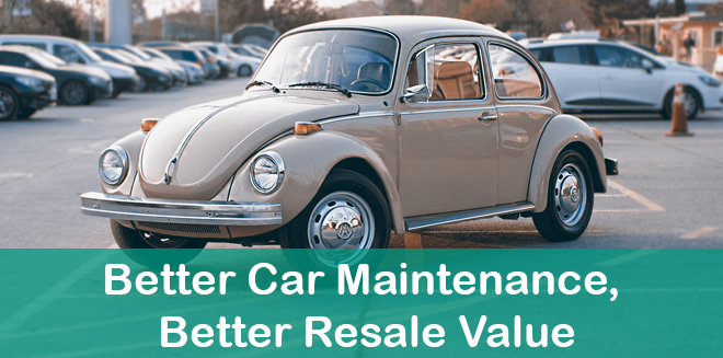 Better Car Maintenance, Better Resale Value